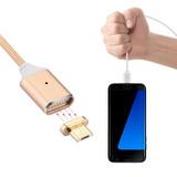 Cable Magnético Aluminio Carga Rápida Samsung Huawei Xiaomi