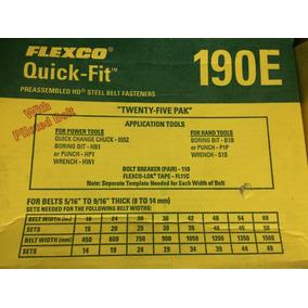 Grapas Flexco Para Bandas Transportadoras 190 E