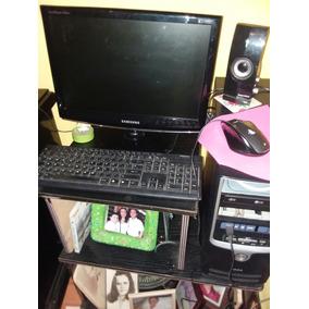 Computadora. Incluye: Cpu Int Monitor Samsung 17 Y Teclado.