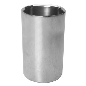 Cooler Inox Parede Dupla Para Vinho 20 Cm