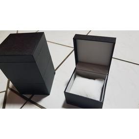 Caixinhas Box Para Relógio Couro Com Almofada