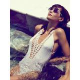 Bikini Body Malla Enteriza Tejido Crochet Varios Modelos