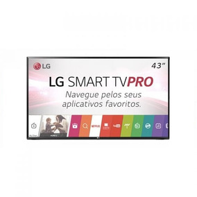 Smart Tv Pro Lg 43 Led 2 Controles Wi-fi Usb Conversor