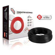 Caja 100 Mts Cable Iusa Blanco Thw Cal 10 Awg 100%cobre