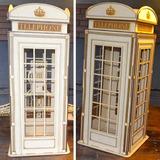 Cabina Telefonica Inglesa 64 Cm De Alto * Somos Fabricantes