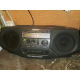 Radiograbadora Sony Con Cd Fm Y Am Bass Con Potente S Wofer