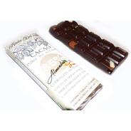 6 Chocolate 85% Cacao Almendra Sin Azucar Stevia Keto Vegano