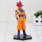 Son Goku God Saiyajn Deus Red Dragon Ball (pronta Entrega)