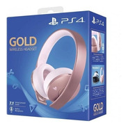 ..:: Audifonos Headset Serie Gold Rose ::.. Ps4 Game Center