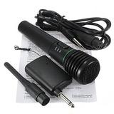 2 En 1 Karaoke Cantando Micrófono Receptor Sistema De