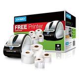 Impresora Codigo De Barras Dymo Labelwriter 450 Super Bundle