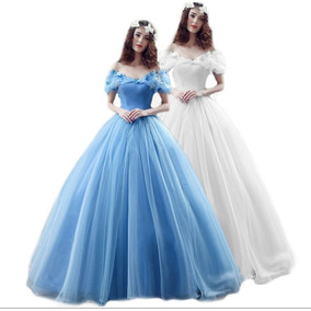 Vestido Longo Festa Debutante 15 Anos Cinderela Importado