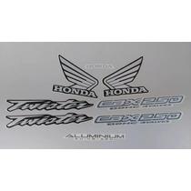 Kit Adesivos Honda Cbx 250 Twister 2004 Preta - Lb00882