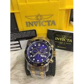 Relogio Pbr45608 Invicta Pro Diver 0077 Misto Azul Promoção 8890771de30