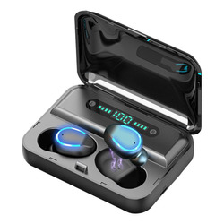 Audifonos Bluetooth Inalámbricos S2k Tws F9-2 In-ear Negro