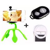 Luz De Selfie Ring Light Anel Led +tripé Gekkopod Celular