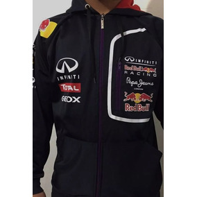 Blusa Red Bull Jaqueta Frio Infiniti Capuz F1 Frete Gratis