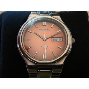 Atractivo Reloj Citizen Automático De 21 Joyas. Dial Cobre.