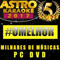 Astro Karaokê - Cante Sucessos Nacionais Internacionais Dvd