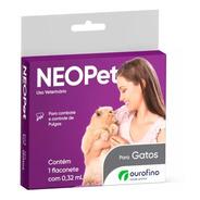 Antipulgas Neopet Gatos Até 8kg Ourofino Neo Pet Anti Pulga