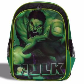 Mochila Escolar Hulk Vingadores - Pronta Entrega!