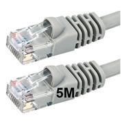 Cable De Red Utp Patchcord 5 Metros Inyectados Cat5e Ditron