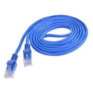 Cabo De Rede 10 Metros Montado Rj45 Ethernet Cat5e Lan Azul
