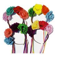 Vincha Flores Día De Los Muertos