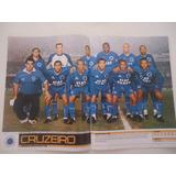 Cruzeiro Campeão Copa Do Brasil 2000 Poster Placar Avulso
