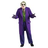 Hombres Deluxe The Dark Knight The Joker Costume, Tallas Gr