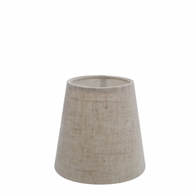 Cúpula De Abajur Luminária Md4000 Cone 14/8x13 Rústico Bege