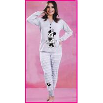 Pijama Dama Disney Minnie Mouse Pantalon Y Blusa 9008