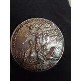 Medalla De Plata Antigua De Colección Centenario De Independ