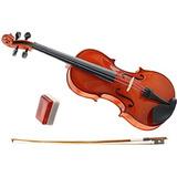 Violino 4/4 Completo Ajustado Por Luthier Frete Grátis R0600