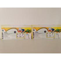 2 Ingressos Final Copa Confederações 2013 Brasil X Espanha