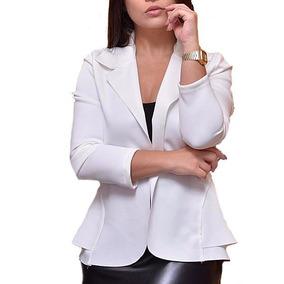 Blazer Femini Neoprene Várias Cores Lançamento 2018 Ref 168