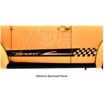 Adesivo Faixa Lateral Sport Vw Fusca Antigo Acessórios Carro