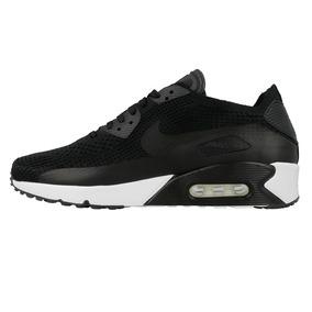 Nike Air Max 90 Ultra 2.0 Flyknit Black-white 875943-001