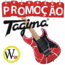 Guitarra Tagima J2 Juninho Afram C/ Case Frete Grátis Wmusic