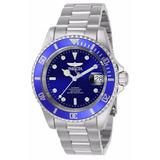 Reloj Automatico 21 Joyas Invicta 9094ob Acero Pro Diver