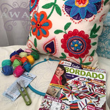 Kit De Bordado Mexicano Con Revista De Regalo