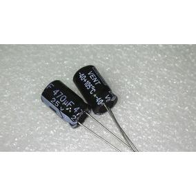 Condensador Electrolítico 470uf 25v 105°c