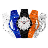 Relógio Champion Watch C/5 Pulseiras Coloridas Novo Original