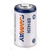 Batería De Litio 3.6v 1/2 Aa Modelo Er14250 Ls14250 1200ma