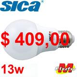 Lampara Led 13w A60 E27 Fria / Dia X10u Sica Electro Medina