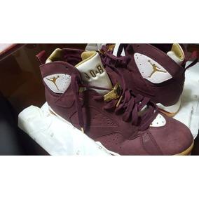 Air Jordan 7 Retro Cigar Hitops Botines Zapatos Baloncesto