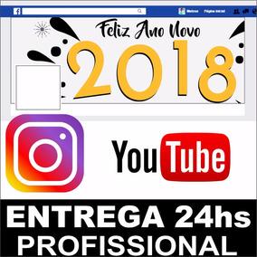 Arte Capa Facebook Instagram Youtube Fanpage Barato Promoção