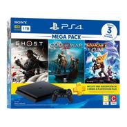 ..:: Consola Playstation 4 Mega Pack 18 ::.. Ps4