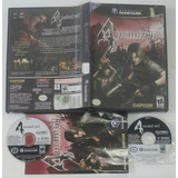 Resident Evil 4 / Gamecube Gc & Wii Completo Con Manual