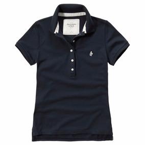Camisa Polo Abercrombie Feminina 100% Original - Tam P - P1